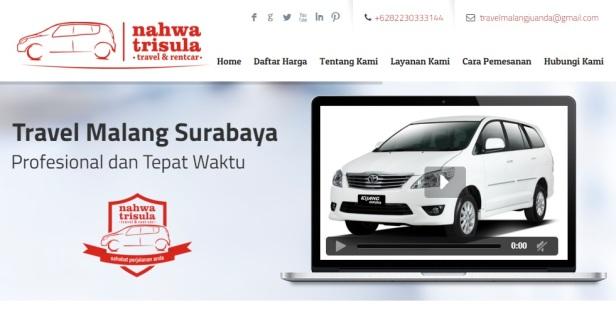 Harga Travel Surabaya Malang
